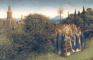 Ghent Altarpiece D - Clergy