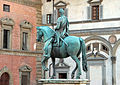 Giambologna e Pietro Tacca, Statua equestre di Ferdinando I de' Medici, 1602-07, 02.JPG