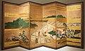 Giappone, periodo edo, paravento con scene delle storie di ise, xviii secolo.jpg