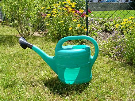 Лейка для полива огорода