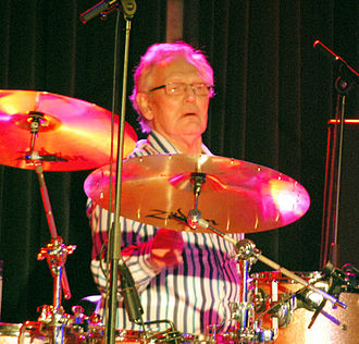 Ginger Baker - Baker performing in 2011