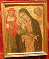 Giovanni di paolo, madonna col bambino tra i santi girolamo e agnese.JPG