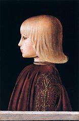 Portrait of a Boy. Guidobaldo da Montefeltro (?)