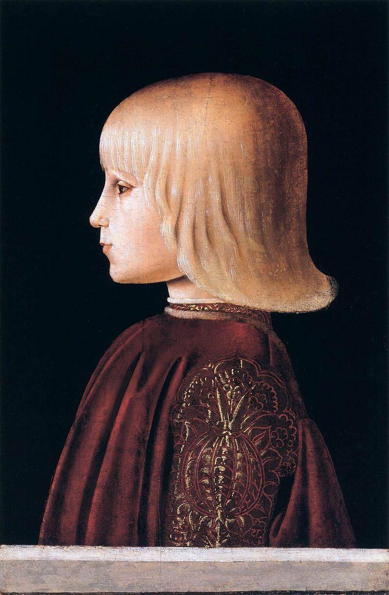 Джироламо Ди Джованни да Камерино - Портрет ребенка - WGA09525.jpg