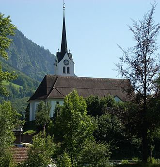 Giswil - Roman Catholic church of Giswil