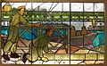 Glas in loodramen geschonken aan het Korps Pontonniers, Geniemuseum Vught, foto 7.JPG