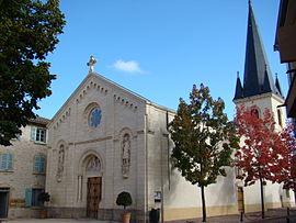 The church in Gleizé