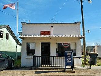 Glenwood, Alabama - Glenwood Post Office (ZIP code: 36034), January 2012