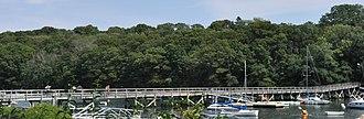 Annisquam Bridge - Image: Gloucester MA Annisquam Bridge 2012