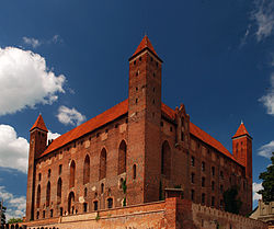 Gniew Castle, one of the most recognizable landmarks in Pomerania