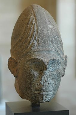 God head, the kingdom of Yamhad (c. 1600 BC). God Head Djabul Louvre AO10831.jpg