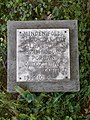 Goethe plaque (1999), 2019 Devecser.jpg