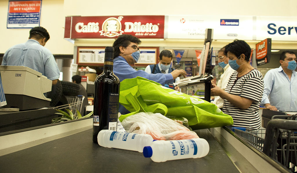 Goods in a Mexican Supermarket Swine Flu.jpg