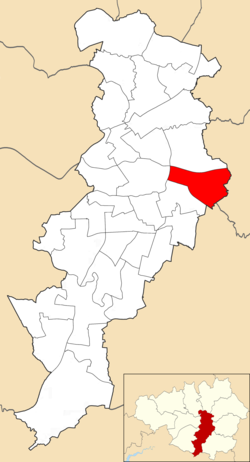 Gorton and Abbey Hey electoral ward within Manchester City Council