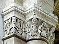 Gournay-en-Bray (76), collégiale St-Hildevert, nef, chapiteaux du 5e pilier libre du sud, côté ouest.jpg