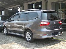 Nissan Livina Wikipedia Bahasa Indonesia Ensiklopedia Bebas