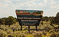 Grand Staircase-Escalante National Monument Sign, Utah (32985868622).jpg