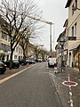Grande-rue (Belley) et grue au niveau de la maison Brillat-Savarin.jpg