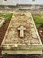Grave of Herbert Chapman at St Mary's, Hendon, July 2021.jpg