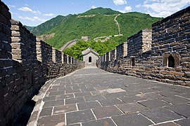 Great Wall of China, Mutianyu, Huairou County, China-10June2009.jpg