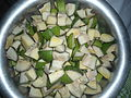 Green Mango pieces for Pickle 01.JPG