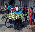 Greengrocer - Kathmandu, Nepal - panoramio.jpg