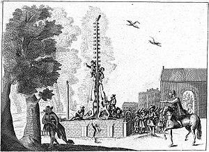 Gevangenpoort - Image: Groene Zoodje, Gebroeders de Witt
