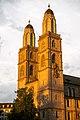 Grossmünster. Westfassade. 2019-08-13 06-19-05.jpg