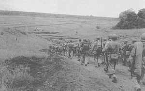 Honiara - Troops at the Battle of Henderson Field