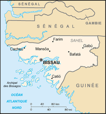 Description de l'image Guinee-Bissau carte.png.