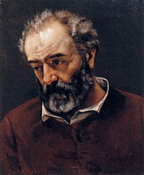 Gustave Courbet: Portrait of Paul Chenavard
