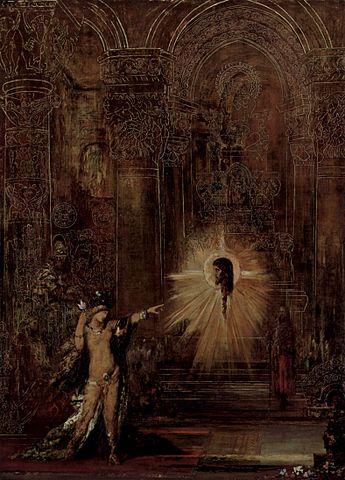 Гюстав Моро. Видение (Саломея и голова Иоанна Крестителя). Символистская интерпретация сюжета