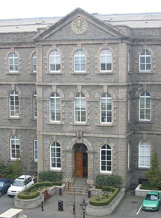 Stuart Syvret - The General Hospital, St Helier