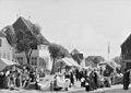 H.J. Hammer - En markedsdag i Fredericia - KMS960 - Statens Museum for Kunst.jpg