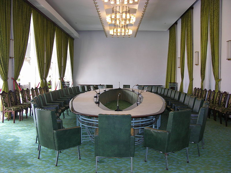 Tập tin:HCMC Reunification Palace - Cabinet Meeting Room.JPG