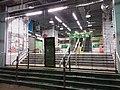 HK 灣仔 Wan Chai 駱克道市政大廈 Lockhart Road Municipal Services Building 駱克道街市 Lockhart Road Market gate door 軒尼詩道 Hennessy Road night September 2019 SSG 01.jpg