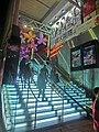 HK CWB 記利佐治街 Great George Street night 珠城大廈 Pearl City Mansion entrance stairs Dec-2013 cinema.JPG