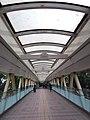 HK CWB 銅鑼灣 Causeway Bay 高士威道 Causeway Road footbridge interior Sunday June 2019 SSG 01.jpg