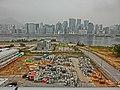 HK KTCT view Kwun Tong District office buildings n Kwun Tong Typhoon Shelter n Kai Tak construction store site Nov-2013.JPG