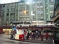 HK Kwun Tong Yue Man Square Bus Terminus 美都大廈 Mido Mansion rainy day.JPG