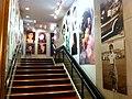 HK Liza Wang historical photos 汪明荃 藝術成就 展覽 North Point 北角 新光戲院 SunBeam Theatre stairs Dec-2012.JPG