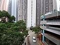 HK TKO 將軍澳 Tseung Kwan O 唐俊街 Tong Chun Street footbridge view November 2019 SS2 06.jpg