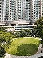 HK TKO 將軍澳 Tseung Kwan O 日出康城 Lohas Park passageway view the Park October 2020 SS2.jpg