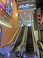 HK TST Nathan Road night MiraMall escalators Nov-2013 Holly Brown Alla Mode.JPG
