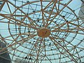 HK Tung Chung Fu Tung Estate Plaza void courtyard 01 Transparent roof Oct-2012.JPG