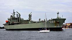 HMAS Sirius im Jahr 2009