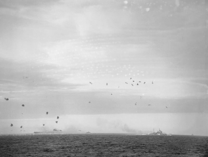 HMS Ark Royal AA fire