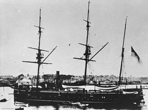 HMS Flying Fish (1873) - Image: HMS Flying Fish (1873)
