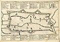 HUA-212028-Plattegrond van de stad Utrecht met weergave van het stratenplan wegen en watergangen en de belangrijkste kerken en kloosters in opstandMet boven een .jpg