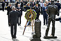 Hagel lays wreath at Navy Memorial - 2013-09-17.jpg